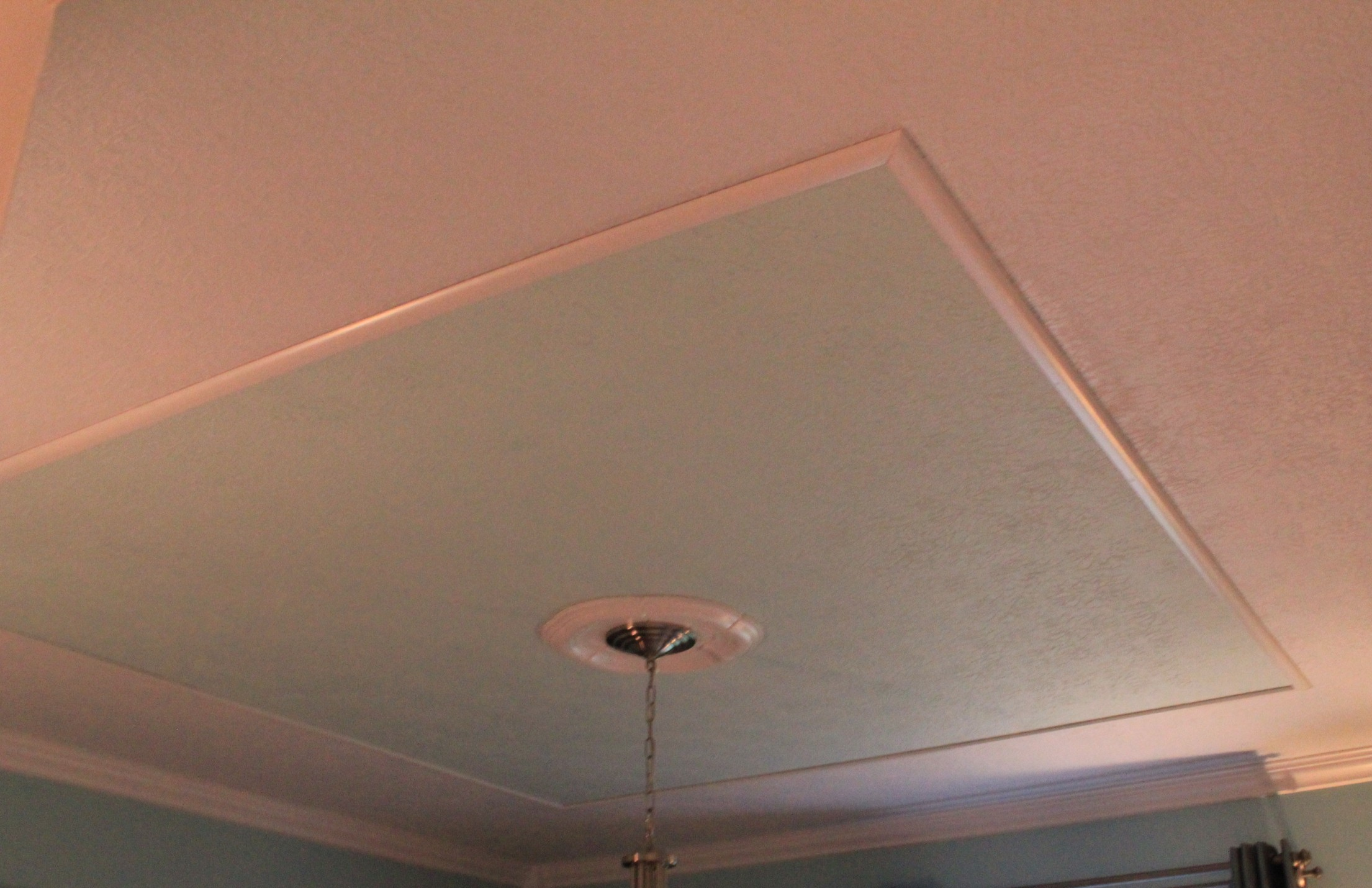 Faux Tray Ceiling And Give Your Room