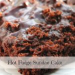 Hot Fudge Sundae Cake - A Pinch of Cake