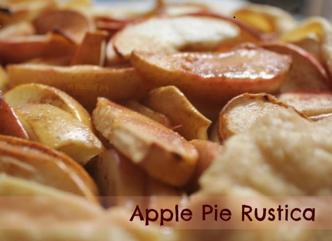 Apple Pie Rustica - A Pinch of Joy