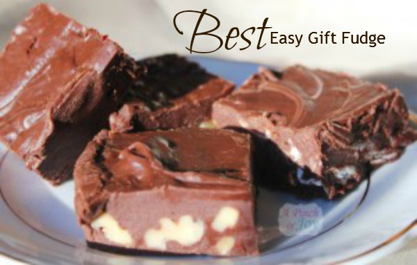 Best Easy Gift Fudge - A Pinch of Joy