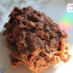 No Bake Oatmeal Chocolate Cookies