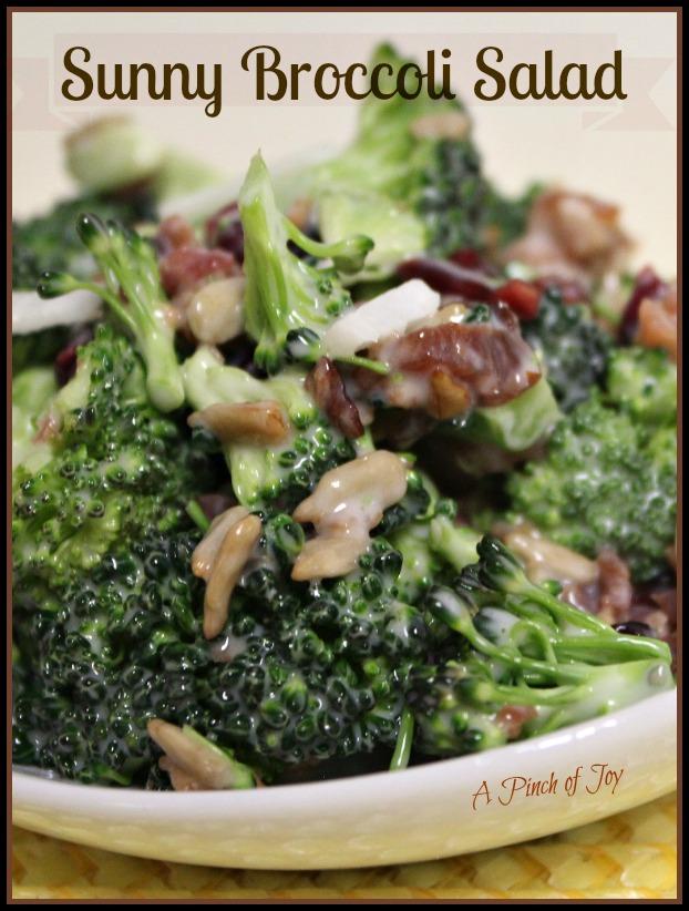 Sunny Broccoli Salad A Pinch of Joy