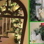 Christmas Banister Garland -- A Pinch of Joy