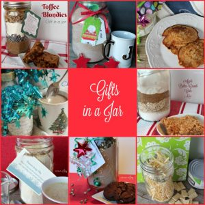 Gifts in a Jar -- A Pinch of Joy #Gifts #Christmas