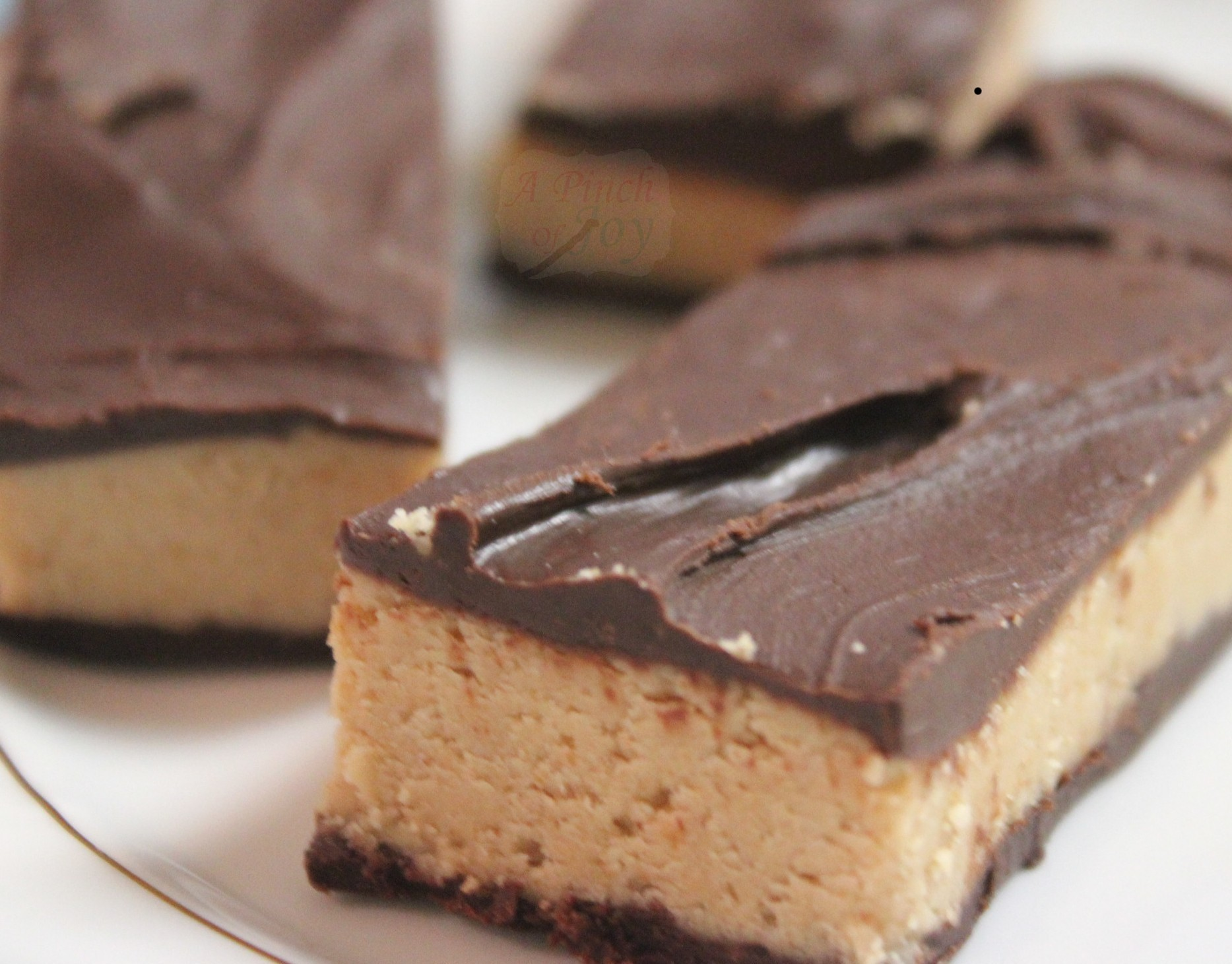 Peanut Butter Double Chocolate Bars