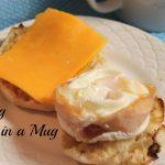 Egg in a Mug - A Pinch of Joy