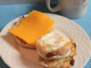 Egg in a mug -- A Pinch of Joy Quick and so easy the kids can make their own!