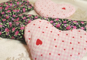 Rice Bags -- A Pinch of Joy. Three different sizes to keep you warm or provide cold.