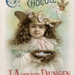 Vintage advertisement for cocoa and chocolate
