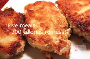 Five meals for 300 calories or less