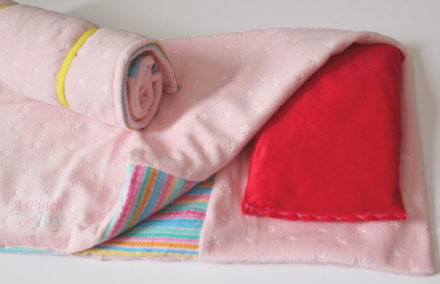 "18"" AG Doll sleeping bags with pillow"