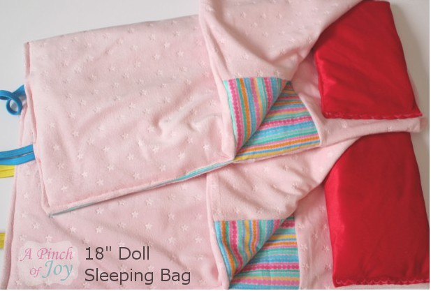 18″ Doll Sleeping Bag