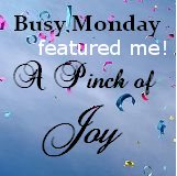Featured at apinchofjoy.com