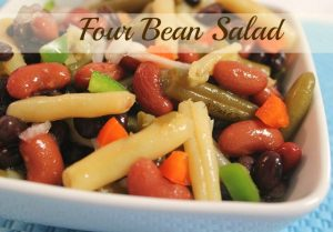 Four Bean Salad from A Pinch of Joy