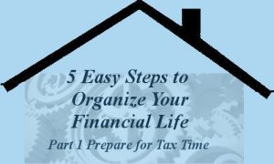 Part15 Easy Steps to Organize Your Financial Life -- A Pinch of Joy