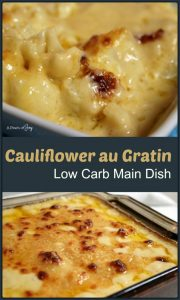Mock N Cheese aka Cauliflower Gratin