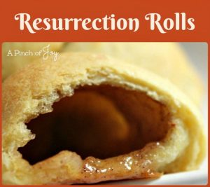 .Resurrection Rolls -- A Pinch of Joy A sweet way to symbolize the empty tomb at Easter time