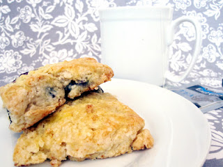 Orange Blueberry Scones