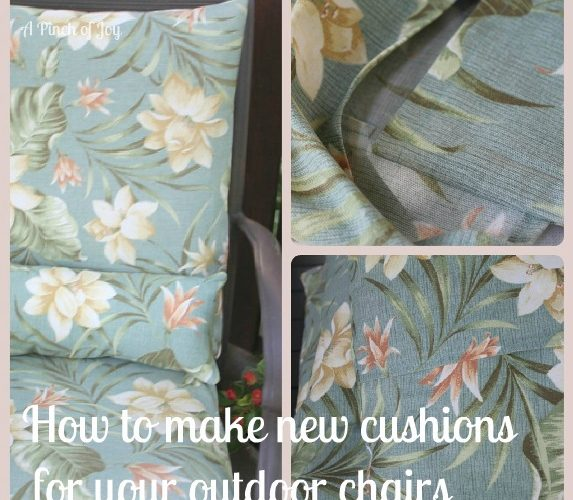 New cushions in five easy steps