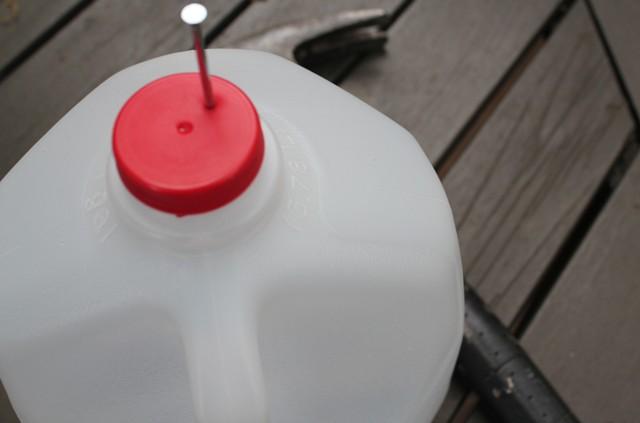 Watering bottle – a Pinterest trial