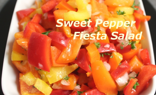 Sweet Pepper Fiesta Salad