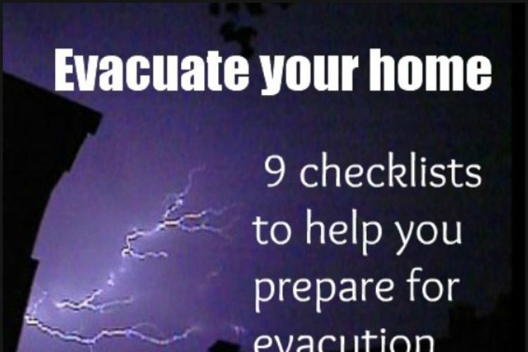 Evacuate your home – 9 checklists to help