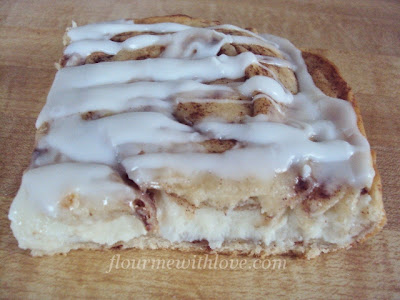 Cinnamon Rolls with Cream Cheese Filling