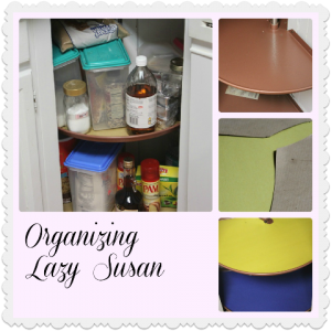 Organizing Lazy Susan