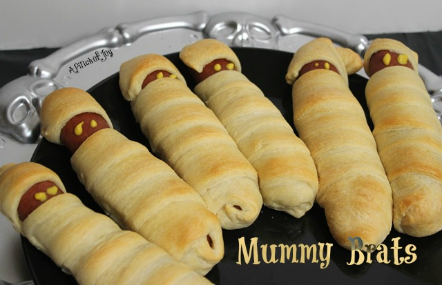 Halloween Dinner Recipes With Pictures.Mummy Brats