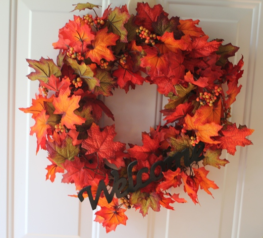 Autumn Welcome wreath