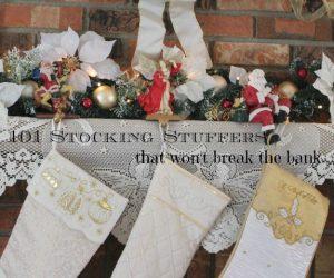 101 Stocking Stuffers that won't break the bank -- A Pinch of Joy