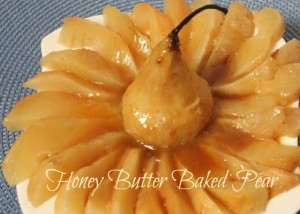 A Pinch of Joy: Honey Butter Baked Pear