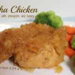 Chicken with pineapple and honey Crockpot or Baked A Pinch of Joy