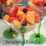 Fruit Cup with Berries and Melon: A Pinch of Joy