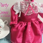 A Pinch of Joy: Party Dress for 18 inch doll