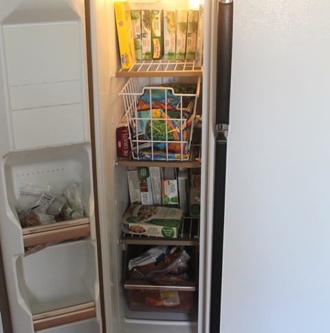 A Pinch of Joy: Refrigerator Freezer