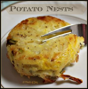 Potato Nests 5