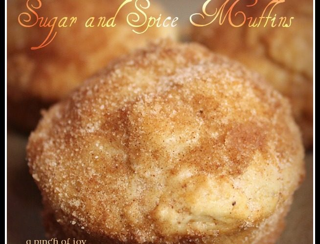 Sugar and Spice Muffins – Best Breakfast Muffins Ever