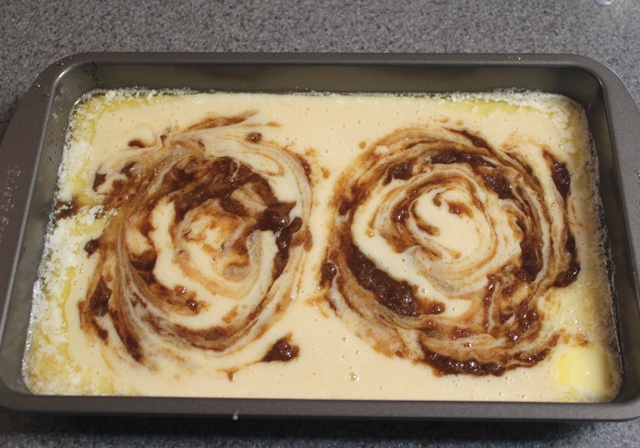 A Pinch of Joy: Cinnamon Swirl Oven Pancake Swirl