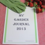 A Pinch of Joy Garden Journal