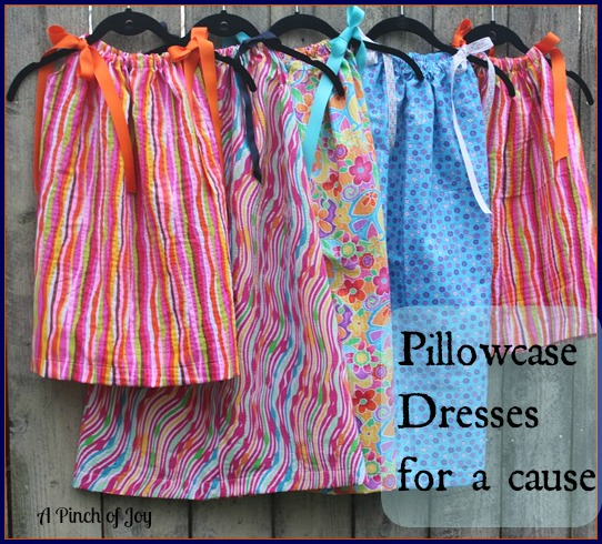 Pillowcase Dresses for a cause