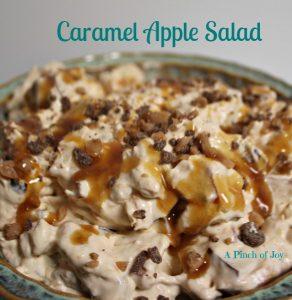 Caramel Apple Salad A Pinch of Joy