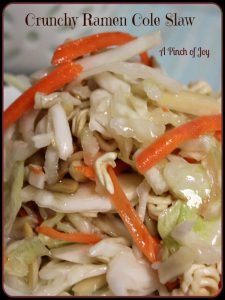 Crunchy Ramen Cole Slaw A Pinch of Joy