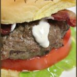 BLT Ranch Burger A Pinch of Joy
