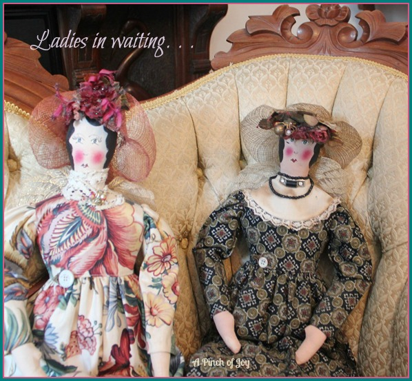 Ladies In Waiting A Pinch of Joy