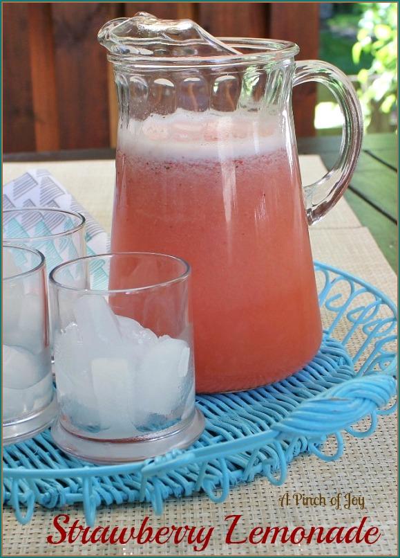 Strawberry Lemonade A Pinch of Joy