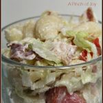 BLT Pasta Salad A Pinch of Joy