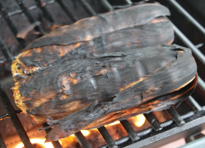 Grilled Corn in the Husk A Pinch of Joy