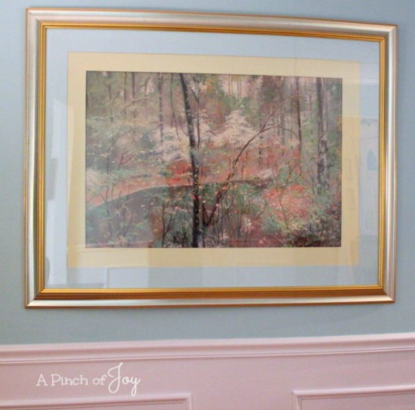 Dining Room Makeover: The Reveal, Spring Picture--- A Pinch of Joy