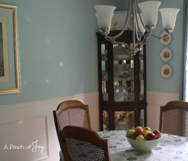 Dining Room Makeover: The Reveal   East Corner A Pinch Of Joy